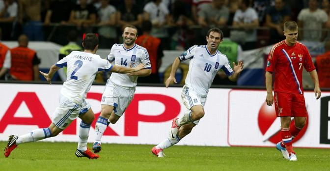 GRECIA-RUSSIA 1-0 (Epa/Weiken)