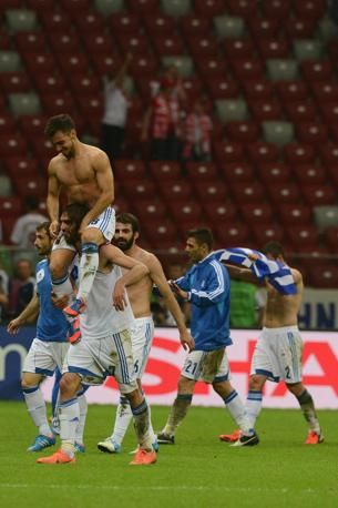 GRECIA-RUSSIA 1-0 (Afp/Kolesnikova)