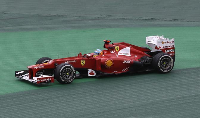 L'uscita di strada di Alonso (Ap)