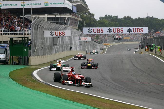 La Ferrari di Alonso (Lapresse)
