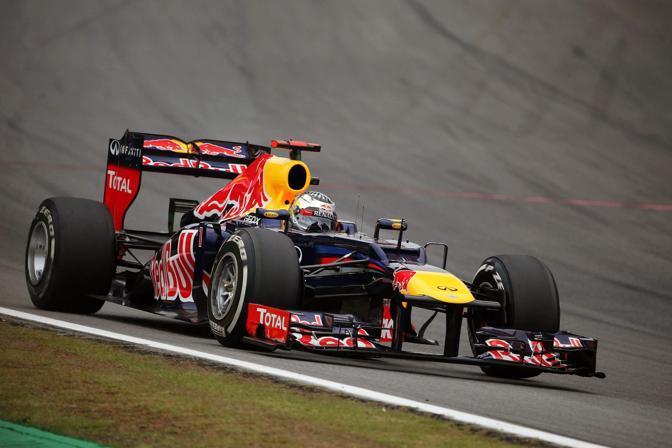 La Red Bull di Vettel (Epa)