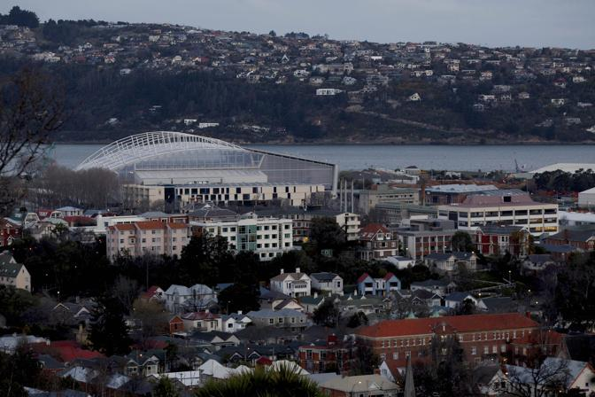Dunedin, l&#39;unico stadio completamente nuovo del Mondiale 2011: l&#39;Italia giocher qui la partita decisiva, contro l&#39;Irlanda il 2 ottobre