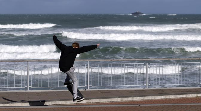 La costa e il mare di Dunedin (Reuters)