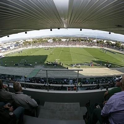 Palmerston, lo stadio