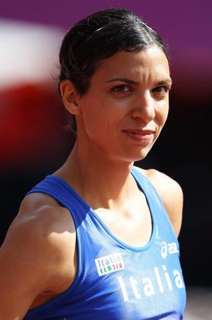 Marzia Caravelli si è qualificata per le semifinali dei 100 ostacoli femminili, piazzandosi terza nella sua batteria. Il miglior tempo è quello della canadese Sally Pearson (Epa/Ghement)