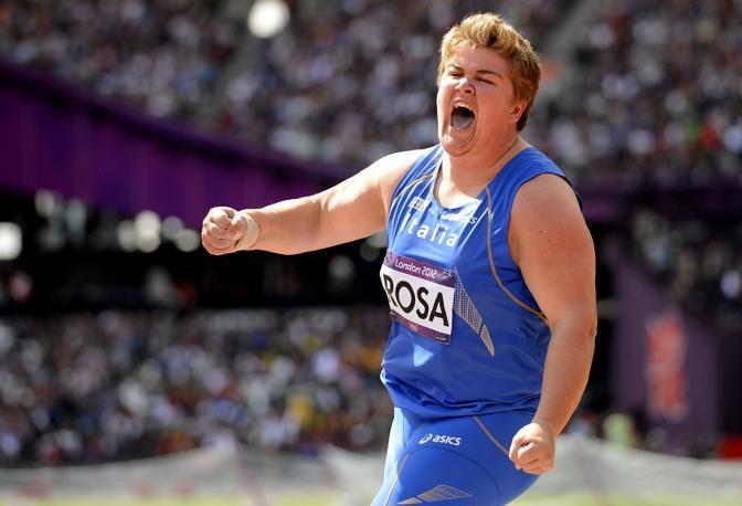 Chiara Rosa ha fallito l'accesso alla finale a 12 della prova olimpico del getto del peso femminile (Usa Today/Mercer)