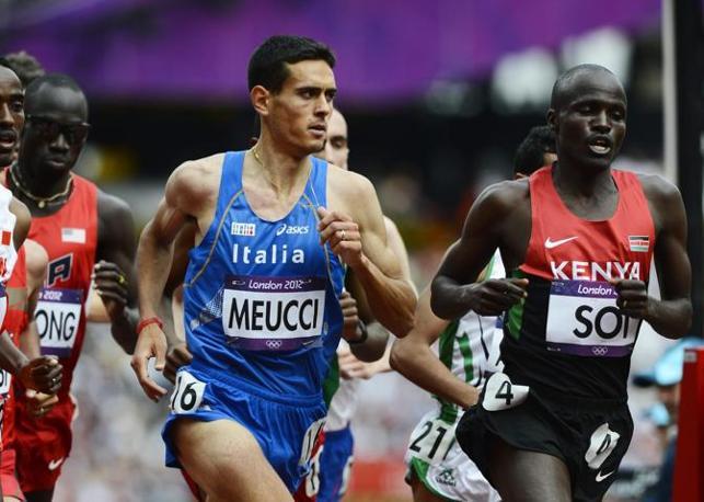 Daniele Meucci, una delle nostre speranze nel mezzofondo, non ce l'ha fatta: è arrivato ottavo nelle batterie e non parteciperà alle finali dei 5000 metri (Epa)