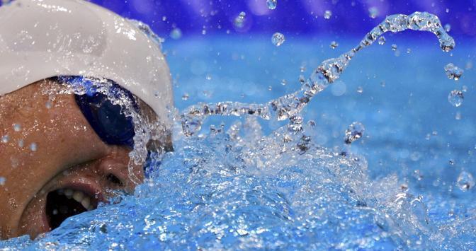 Freestile, 200 metri: la nuotata della ceca Ondrej Polivka (Reuters)