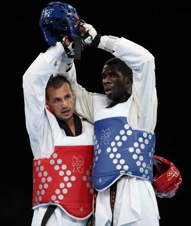 La finale di taekwondo con la vittoria di Molfetta su Anthony Obame
