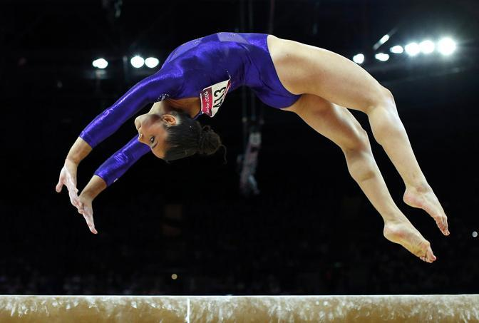 L'americana Alexandra Raisman, ginnasta (Reuters)