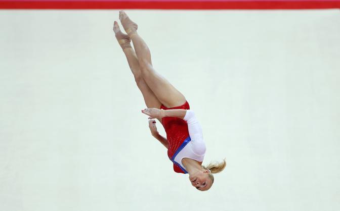 Kseniia Afanaseva, la russa incanta ai giochi di Londra (Reuters)