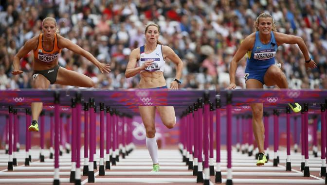 100 ostacoli, qualificazioni (Reuters)