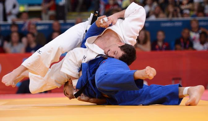 Eliminato anche Roberto Meloni, campione di Judo (Afp)
