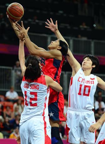Il basket a stelle e strisce non è solo il dream team degli uomini: con la vittoria contro la Cina, sono esattamente vent'anni che la rappresentativa femminile americana non perde all'Olimpiade (Usa Today)
