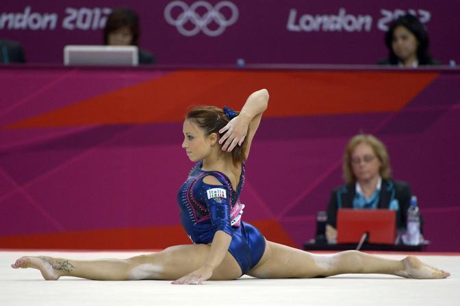 Vanessa ha ottenuto lo stesso punteggio della russa Mustafina, che però ha eseguito meglio un esercizio a coefficiente di difficoltà più basso. Da qui la rabbia dell'azzurra (LaPresse/D'Alberto)