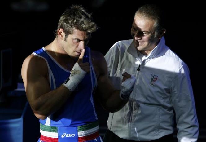 E Russo fa come Usain Bolt: zitti tutti! (Reuters/Sezer)