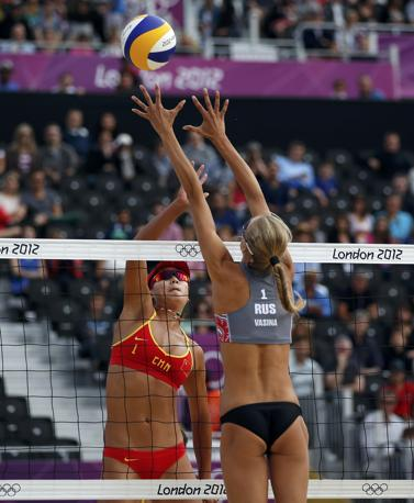 Russia vs Cina (Reuters)