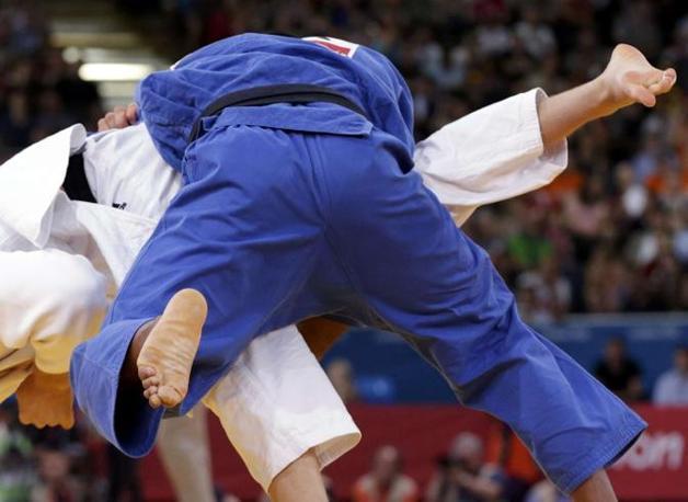 Il combattimento di judo Olanda-Brasile (categoria 100 kg)