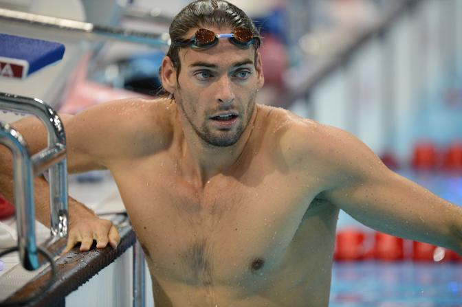 Il nuotatore francese Camille Lacourt (Afp/Bureau)