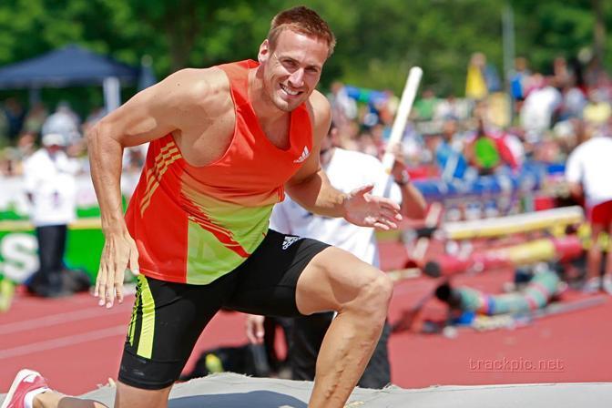 Il campione belga del decathlon, Hans van Alphen