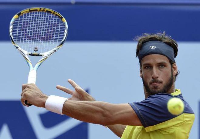 Il tennista spagnolo Feliciano Lopez (Ap/Schneider)