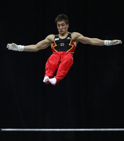 Il ginnasta tedesco Philipp Boy