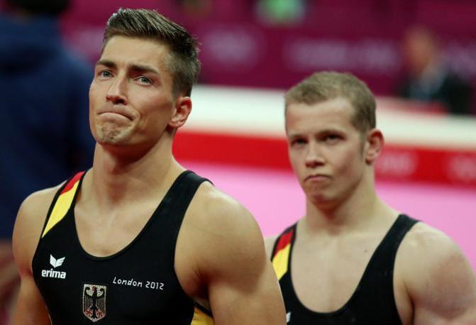 Il ginnasta tedesco Philipp Boy (Epa/Vennenbernd)