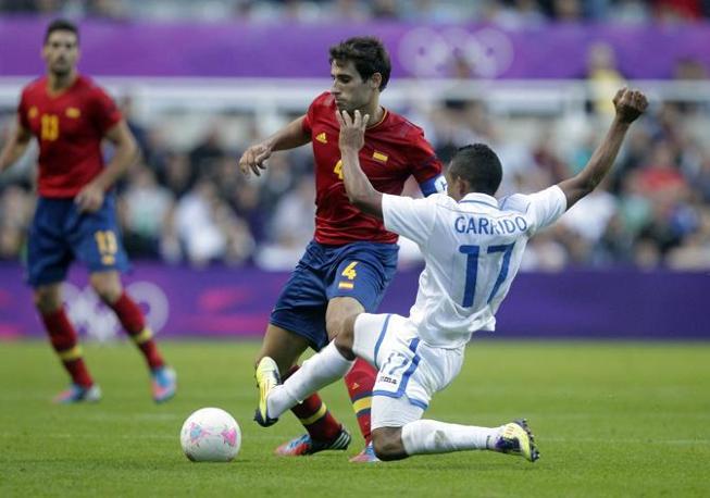 Il calciatore spagnolo Javier Martinez (Afp/Stuart)