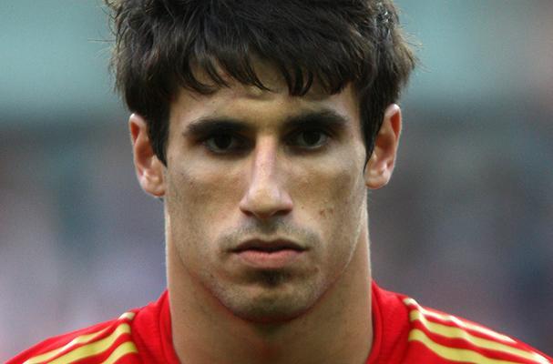 Il calciatore spagnolo Javier Martinez