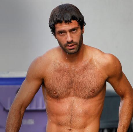 Il tuffatore brasiliano, Hugo Parisi