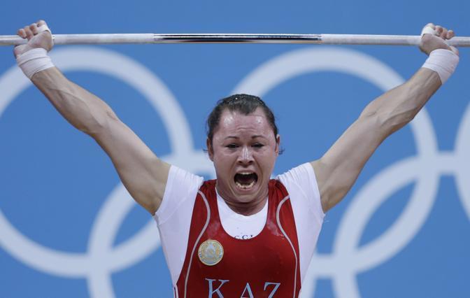 Anna Nurmukhambetova del Kazakhistan (Ap)