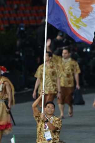 Le Samoa Americane, con Wei Ching (Afp/Buoys)