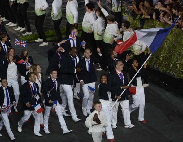 La Francia, con Laura Flessel-Colovic (Richard Mackson-Usa Today)