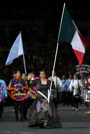 Messico, con Maria del Rosario Espinoza (Reuters/Sezer)