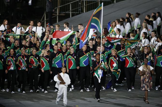 Il Sud Africa è capitanato da Caster Semenya (Ap/Hong)