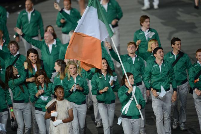 l'Irlanda, con Katie Taylor  (Afp/Simon)