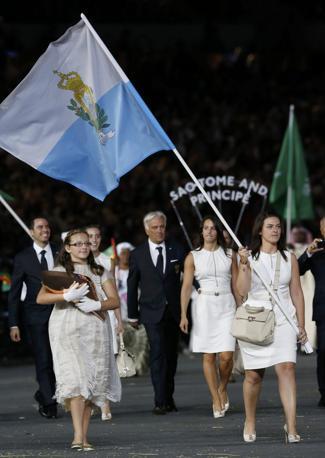 San Marino, con alessandra Perilli (Reuters/Sezer)