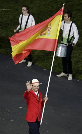 Pau Gasol, portabandiera della Spagna (Ap/Riedel)