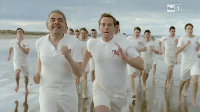 Ecco le immagini della clip che descrive il sogno di Mr Bean (Italyphotopress)
