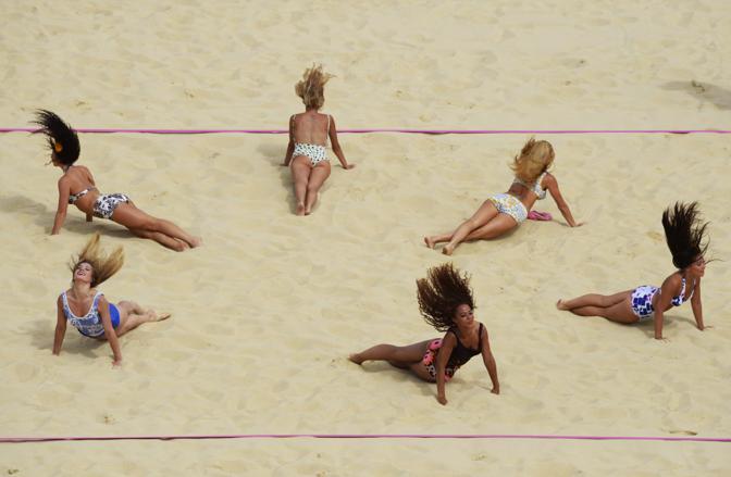 Beach volley (Afp)
