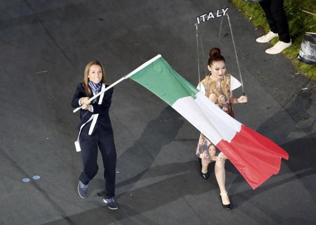 Valentina Vezzali guida la delegazione italiana (Afp)