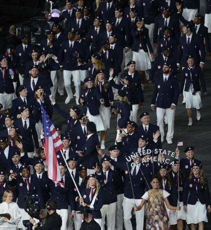 La delegazione degli Usa (Richard Mackson-USA TODAY Sports)