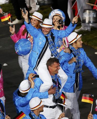 Quella tedesca giocosa e spensierata (Reuters)