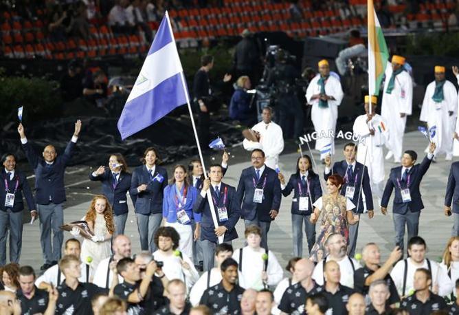 I rappresentanti del Nicaragua (Reuters)
