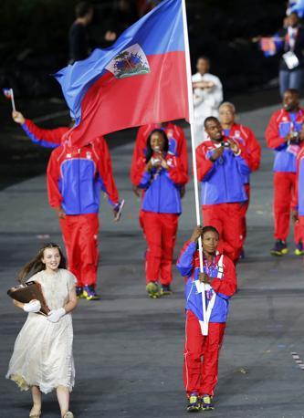 Haiti, lo stato centro-americano in rappresentanza a Londra 2012 (Reuters)