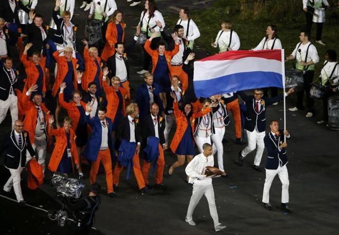 La nazionale olandese (Reuters)