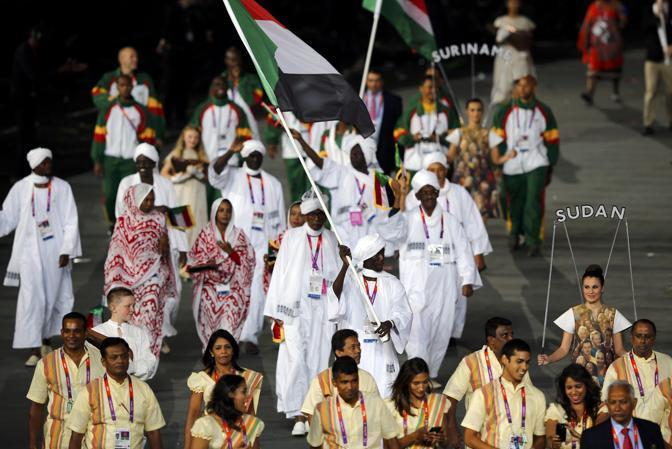 La delegazione del Sudan (Reuters)