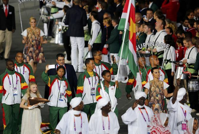Quella del Suriname (Reuters)