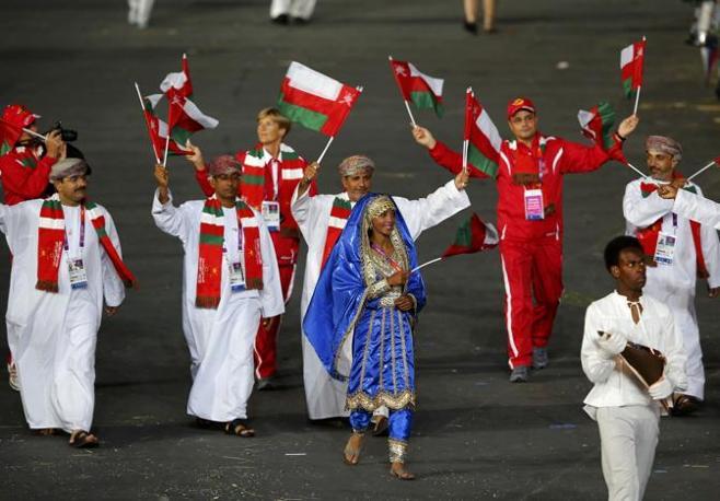 La delegazione dell'Oman (Reuters)