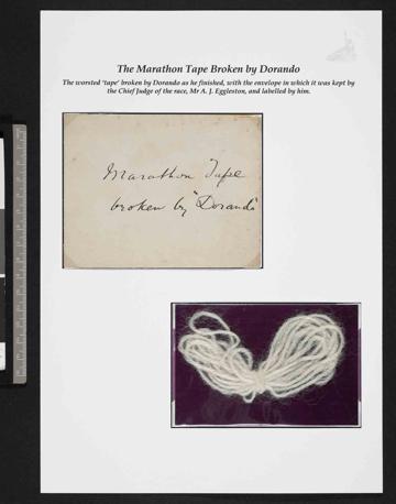 Il filo di lana della maratona 1908